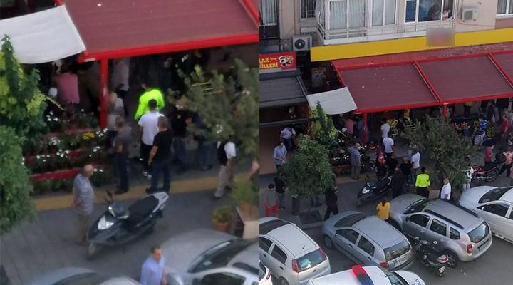İzmir'de markette maske uyarısı yapılan kişi,müdürü bıçakladı