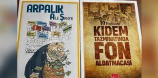 CHP'nin bastırdığı iki kitap hakkında toplatma kararı , polis il başkanlığındaki kitaplara el koydu