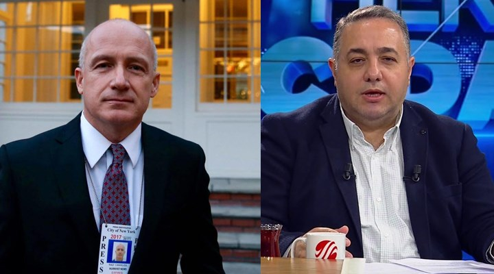 CNN Türk canlı yayınında kavga: Sen aptal adamın tekisin