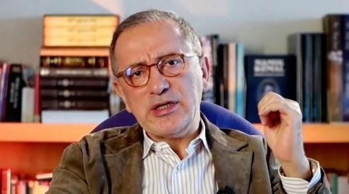 Fatih Altaylı: Ankara'da,kabine değişikliği olacağı haberleri dolaşıyor