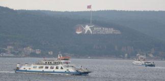 Tüm Gökçeada feribot seferleri iptal edildi