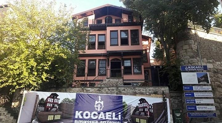 AKP'li belediye, tarihi pembe köşkü Ensar Vakfı'na tahsis etti