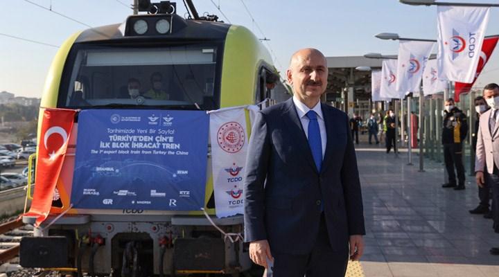 Bakan Adil Karaismailoğlu'ndan 'Çin'e giden tren' açıklaması: Kayseri'ye varmak üzere