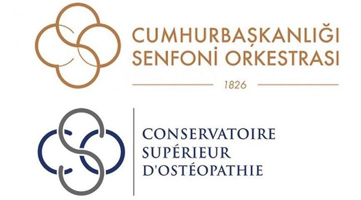 Cumhurbaşkanlığı Senfoni Orkestrası'nın logosu Paristen'mi esinlendi?