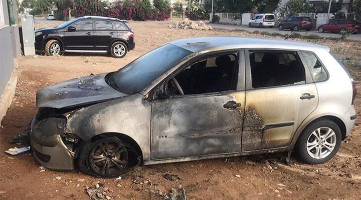 Eski sevgilisinin otomobilini kundaklayan şahıs serbest bırakıldı