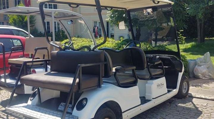 İBB 'israf' denilen golf araçlarının mezarlıklar ve yaşlılar için alındığını açıkladı