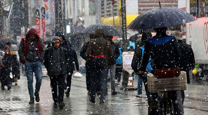 Meteoroloji'den Doğu Karadeniz'e kar ve yağmur uyarısı