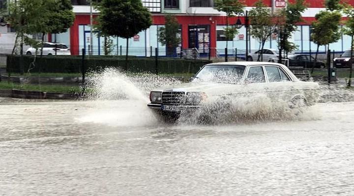 Meteoroloji ve AFAD'dan sağnak yağış uyarısı
