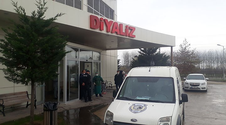 Samsun'da Diyaliz merkezini benzin döküp yakmak isteyen şahıs tutuklandı
