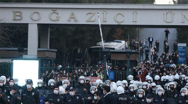 Boğaziçi protestosu nedeniyle gözaltına alınanların sayısı 22'ye yükseldi