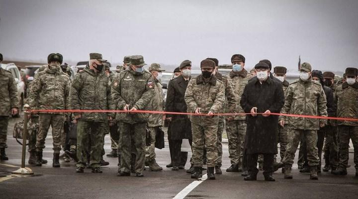 Dağlık Karabağ'da Türkiye-Rusya Ortak Gözlem Merkezi faaliyete başladı