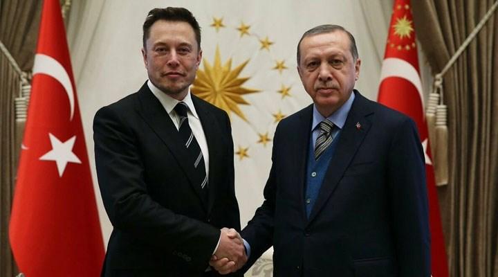 Erdoğan, Elon Musk ile telefonla görüştü