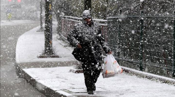 Meteoroloji'den 11 il'e kar yağışı uyarısı