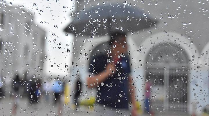 Meteoroloji'den 5 bölgeye sağanak ve fırtına uyarısı
