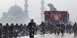 Meteoroloji'den uyarı: İstanbul'da kar yağışı devam edecek
