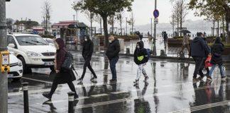 Meteoroloji İstanbul için uyardı:Bugün Sağanak bekleniyor