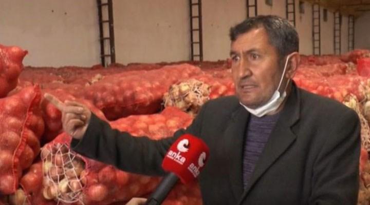 Soğan üreticisi sıkıntılı:Restoranlar kapalı olduğu için depoda çürüdü