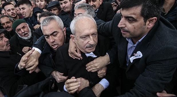 Çubuk'ta asker cenazesinde Kılıçdaroğlu'na saldıran 21 kişiye dava açıldı