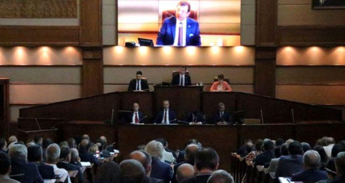 İBB Meclis toplantısında 'tetikçi müfettiş' tartışması
