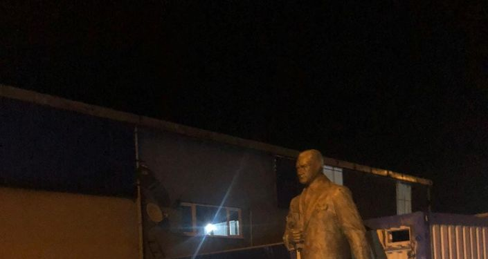 Samsun'da 'Atatürk heykelini hurdacıya sattılar' iddiası
