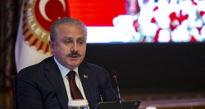 TBMM Başkanı Şentop: 'PKK'ya ve bütün iş birlikçilerine binlerce kez lanet'