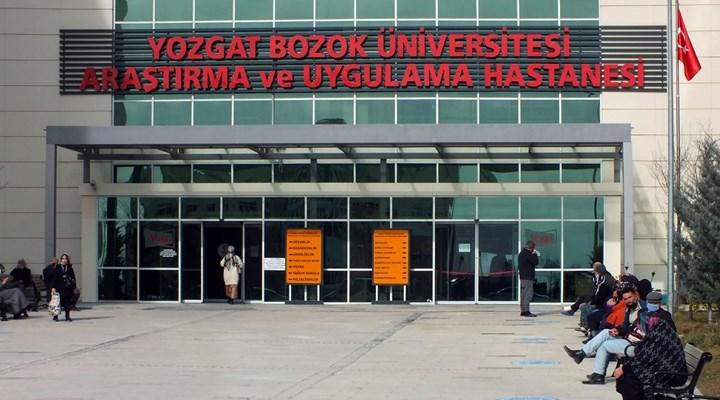 Yozgat'ta bir vatandaş istediği ilacı yazmayan doktorun ayak bileğini kırdı