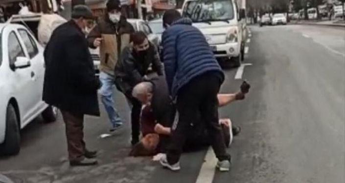 Ankara'da uluorta kadına şiddet