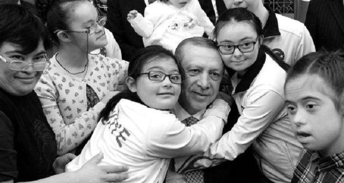 Erdoğan'dan Down Sendromu Günü mesajı