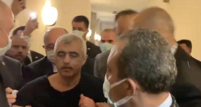 HDP'li Gergerlioğlu, TBMM'de gözaltına alındı