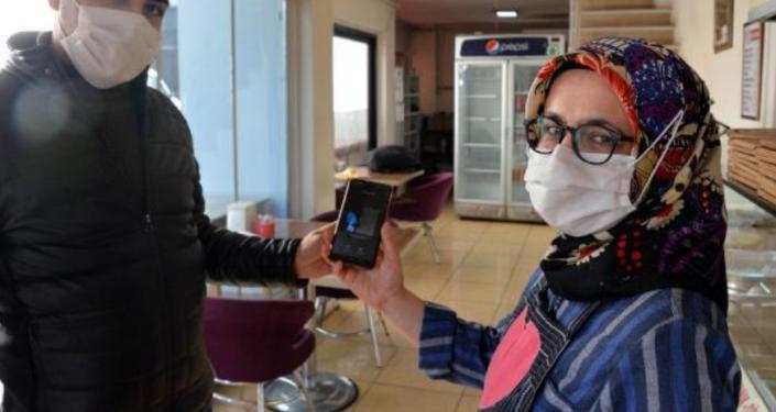 Kahramanmaraş'ta Bitcoin'le gözleme satışı