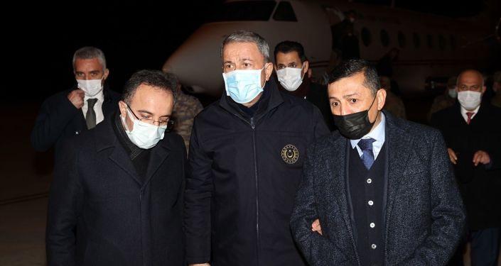 Milli Savunma Bakanı Hulusi Akar'dan helikopter kazasına ilişkin açıklama