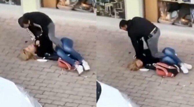 Sokakta, karşılaştığı trans bireyi dövdü