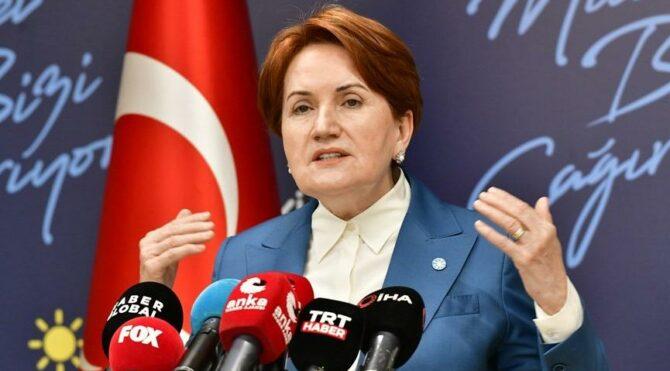Akşener: Türk milletinin onur ve itibarına yönelik ağır bir saldırı niteliğini taşıyor