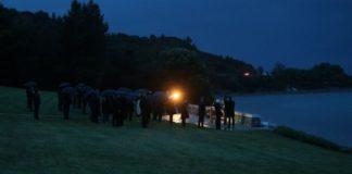 Anzak Koyu'nda bu yıl 'Şafak Ayini' yerine sadece çelenk töreni düzenlendi