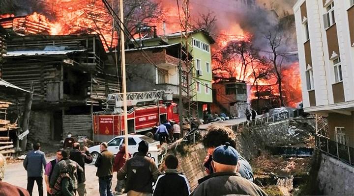 Artvin'deki yangınların nedeni eski tesisatlar