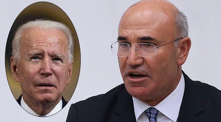 CHP'li Mahmut Tanal'dan, Joe Biden'e suç duyurusu