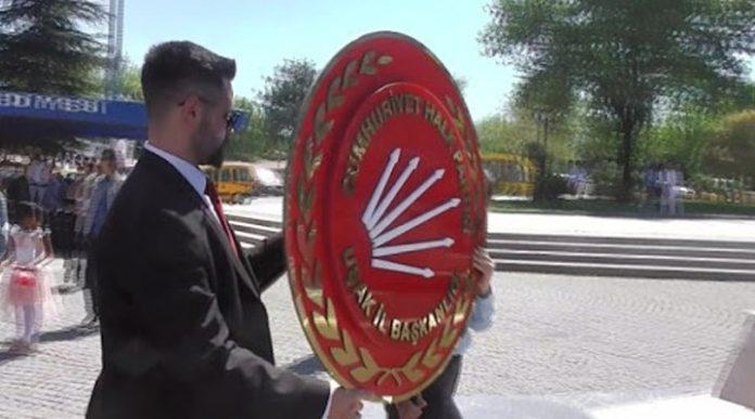 CHP'nin 23 Nisan'da çelenk koyma başvurularına valiliklerden ret geldi