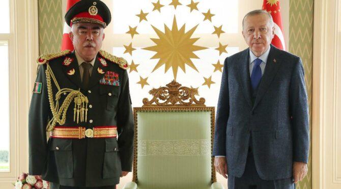 Cumhurbaşkanı Erdoğan, Dostum'u kabul etti