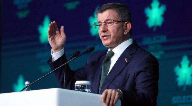 Davutoğlu'ndan yeniden oylama tepkisi: Oldu olacak Anayasa Mahkemesini de, TBMM'ni de kapatın!