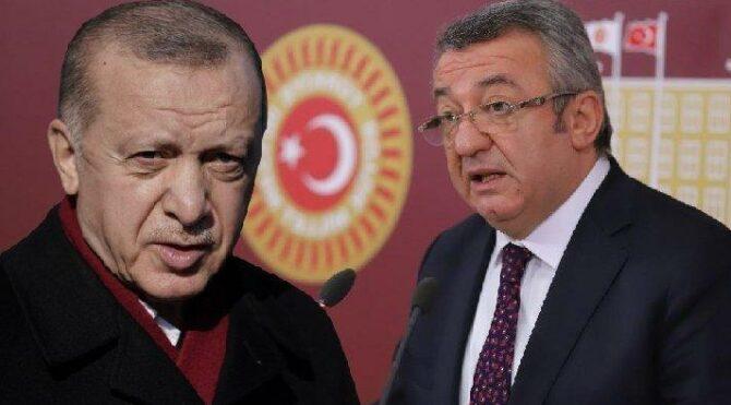 Engin Altay'dan Cumhurbaşkanı Erdoğan'a 128 bin TL'lik dava