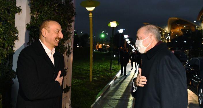 Erdoğan, Azerbaycan Cumhurbaşkanı Aliyev ile telefonda görüştü