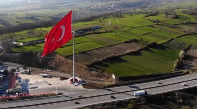 Erdoğan 'en büyük bayrak' demişti oysa Samsun'da daha büyüğü ortaya çıktı
