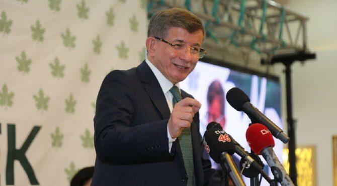 Gelecek Partisi Genel Başkanı Ahmet Davutoğlu'ndan Erdoğan'a 'yazar kasa' yanıtı: O gün Türkiye'yi krize sokanlarla berabersin