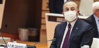 Kıbrıs konferansının ardından Bakan Çavuşoğlu'ndan açıklama