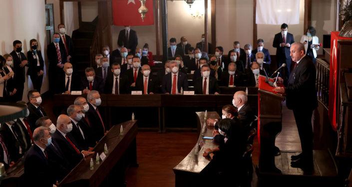 Meclisin açılışının 101. yıl dönümü dolayısıyla Birinci Meclis'te tören düzenlendi
