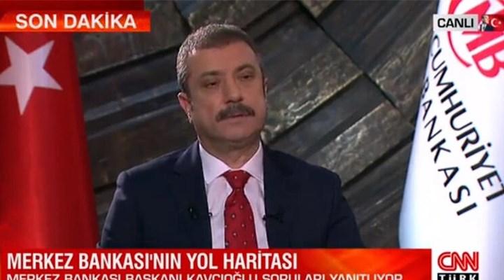Merkez Bankası Başkanı Kavcıoğlu: Kaybolan rezervler varlık ile yokluk olarak yer değiştirdi