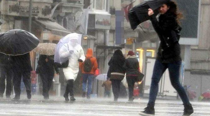 Meteoroloji'den uyarı:İki gün içinde sıcaklar 10 derece birden düşecek!