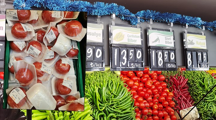 Migros'tan tane ile satılan pahalı domateslerle ilgili açıklama