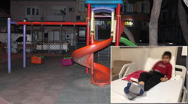 Parkta oynayan 6 yaşındaki çocuğun başına 'yorgun mermi' isabet etti