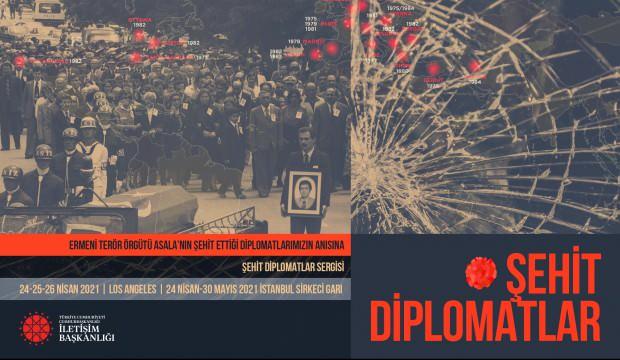 Şehit edilen diplomatlar Los Angeles ve İstanbul'da eş zamanlı olarak anılacak